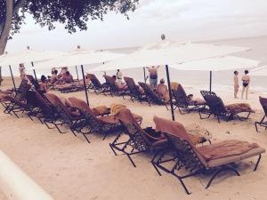 Beach and Sunbeds