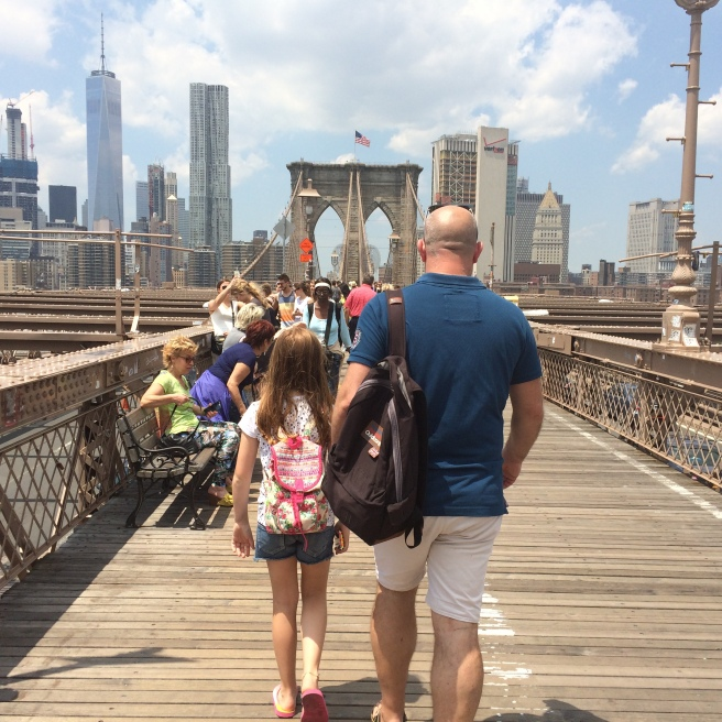 Walking Brooklyn Bridge