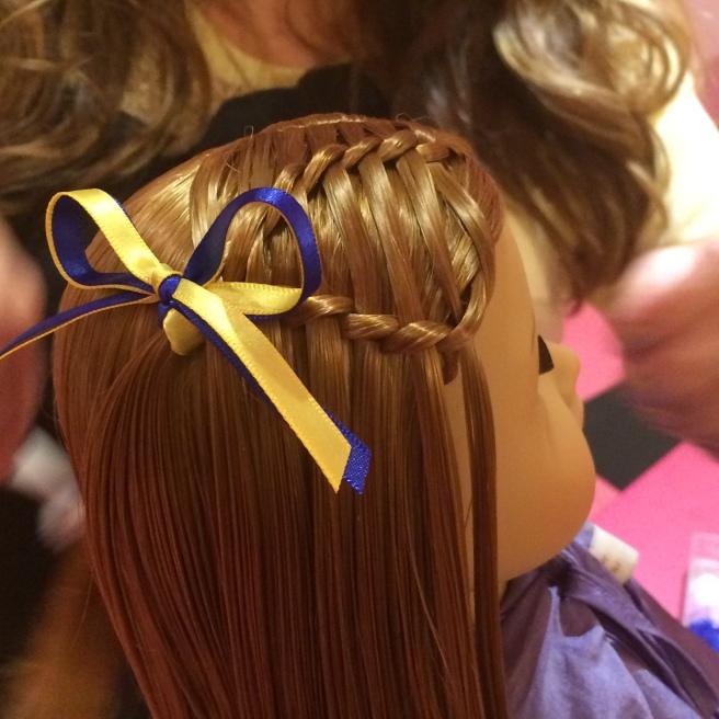Dolls hair plait