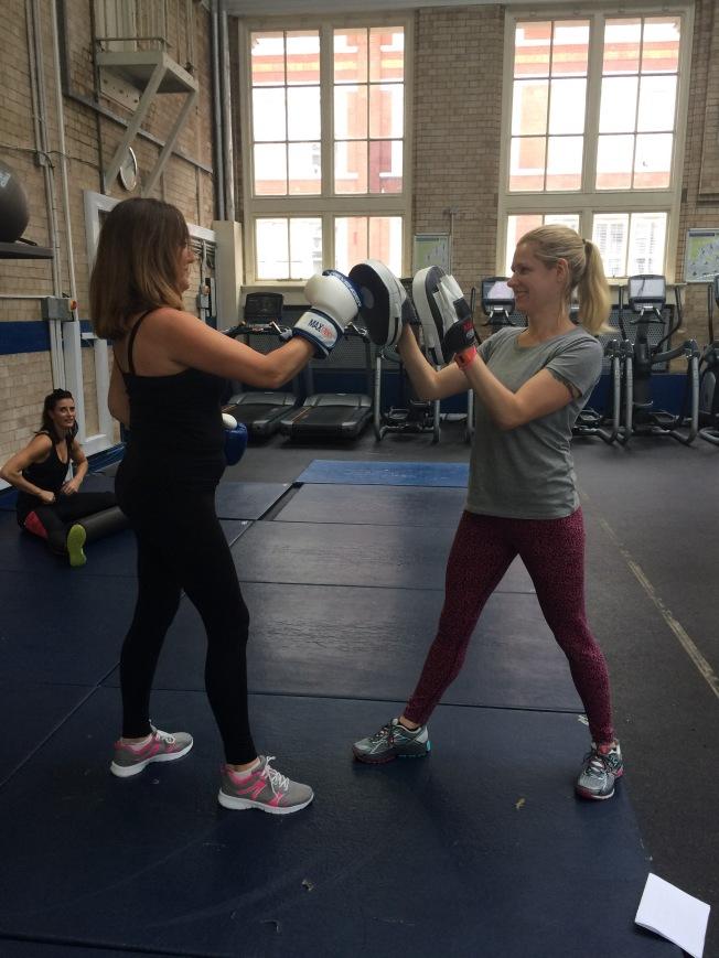 Fit & Flourish. Samatha Hadfield. Boxing. Exercise